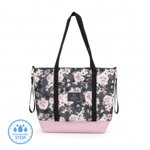 Shopper Bag Night Flowers / Makaszka