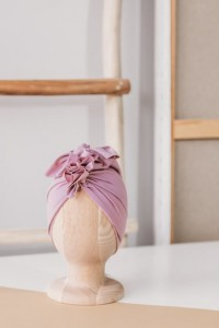 Turban Organic Mauve Pink / Looks by Luks